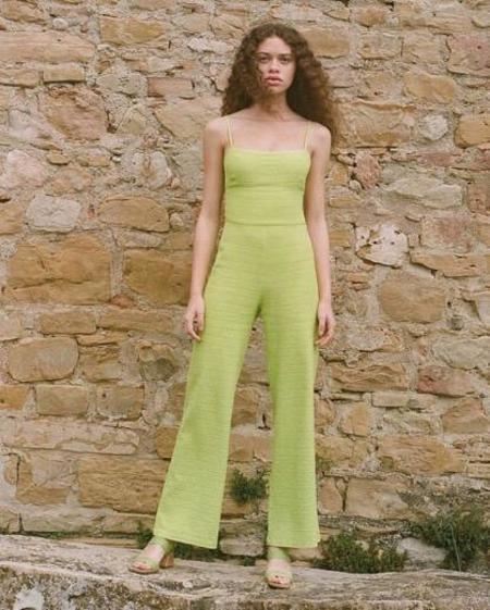 Paloma Wool Ava Jumpsuit - Citron