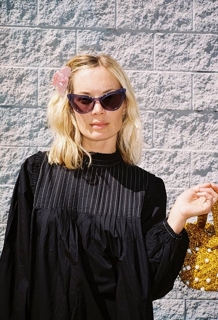 Ganni Lulu Sunglasses - Total Eclipse