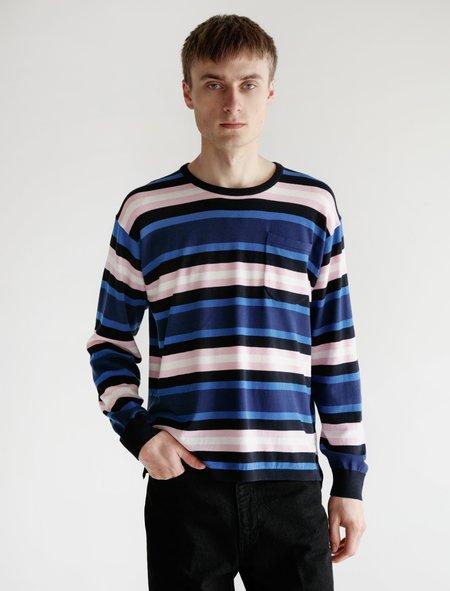 Meticulous Knitwear Hennessy Long Sleeve - Multi Stripe