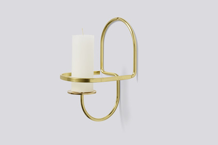 Hay Lup Wall - Brass