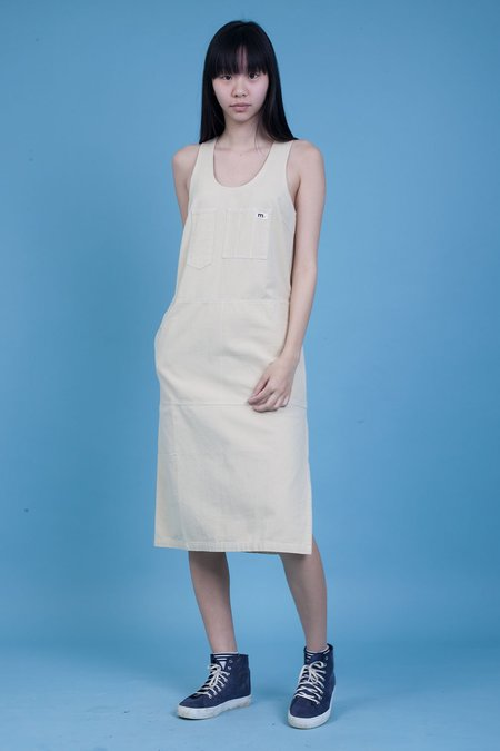 L.F.Markey Markey Collection Midi Utility Dress - stone