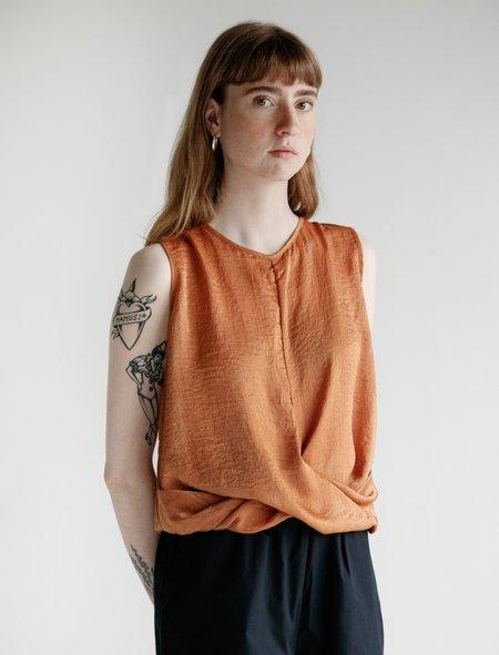 Priory Knot Tank - Burnt Orange