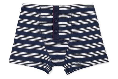 Hemen Biarritz Albar Boxer - Stripe Bleu Mayol