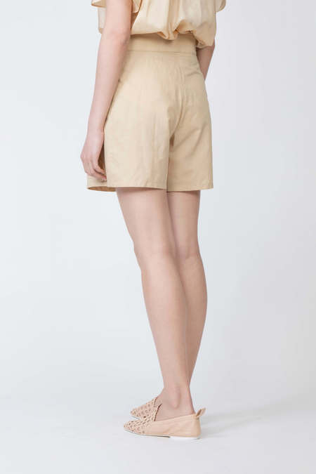 JOSEPH Pete Silk Poplin Shorts