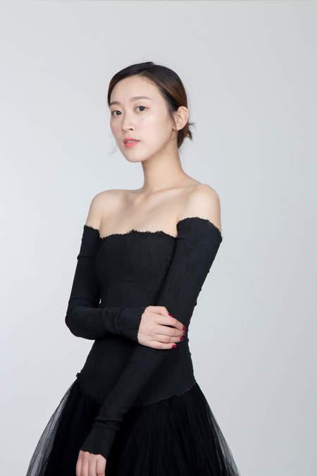MARC LE BIHAN Danseuse Bustier Manche Dress - Black