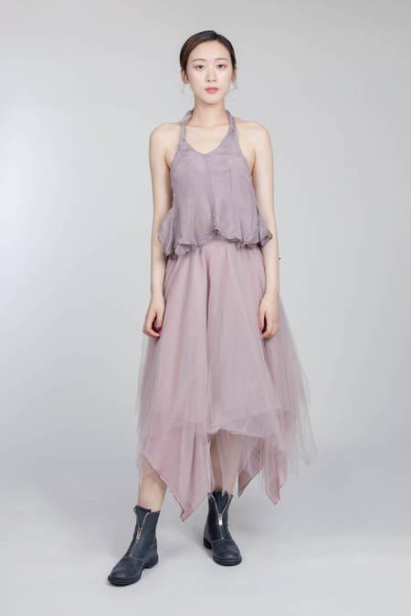 MARC LE BIHAN 6 Couches Skirt - Bois De Ros