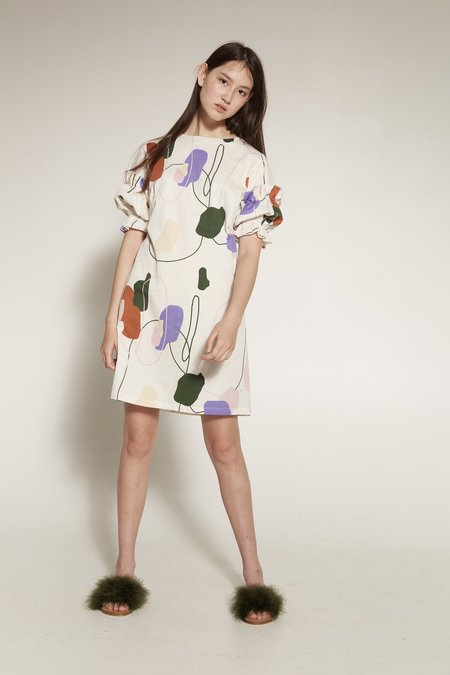 Arc & Bow Panorama Dress - MULTI