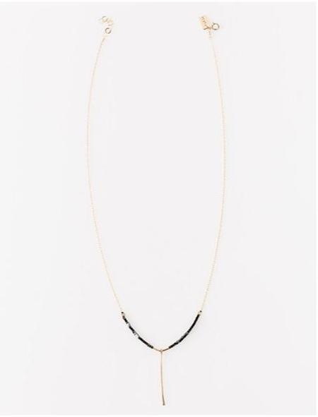 ILD Eclipse Necklace Pin - Hematite