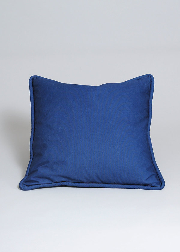 Conifer Square Indigo Floor Pillow