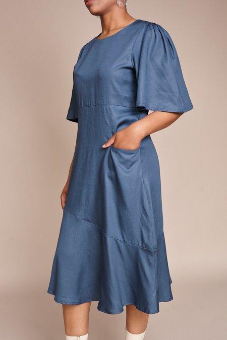 Maria Stanley Hailey Dress - Cerulean