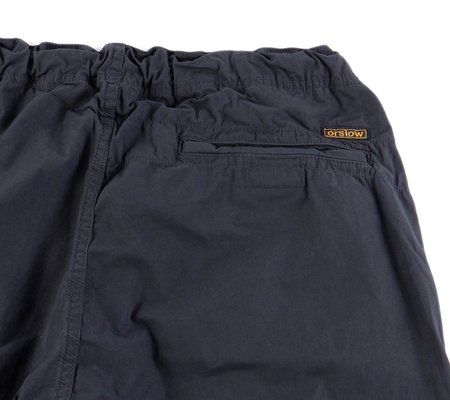 Orslow Typewriter Cloth New Yorker Pant - Charcoal