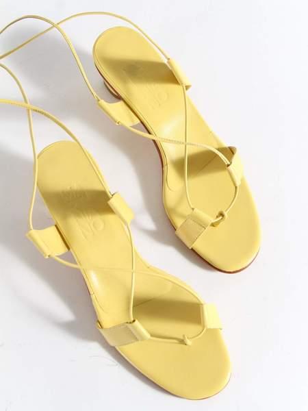Martiniano Pavone Sandal - Yellow