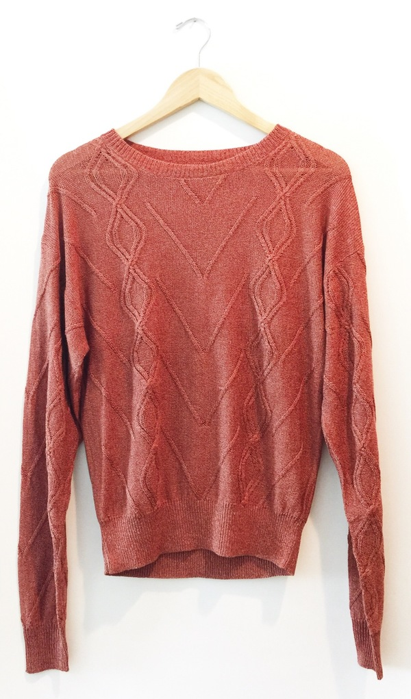Callahan. Cableknit Boyfriend Sweater