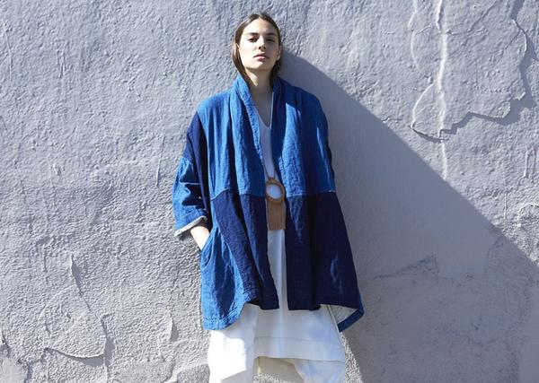 Atelier Delphine Haori Coat - Patchworked