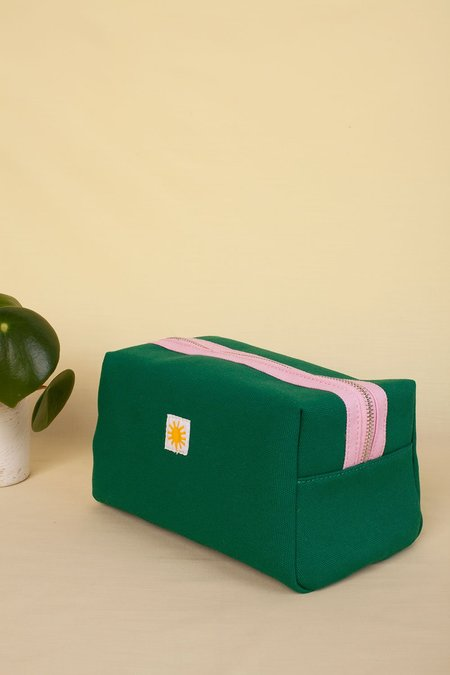 Unisex L.F.Markey Toiletry Case - GREEN