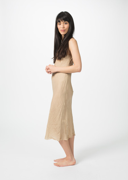 Organic by John Patrick Bias Slip Dress - Nude