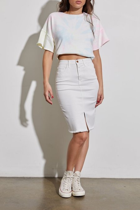 NSF Emmie Skirt - SOFT WHITE
