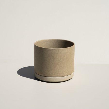 Hasami Porcelain Planter & Saucer - Natural