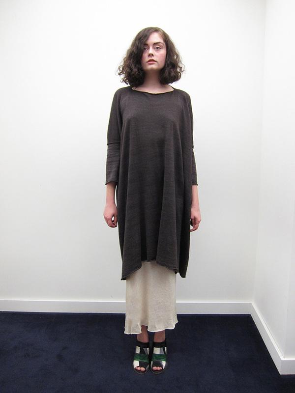 Lauren Manoogian Hunch Dress, Oscuro