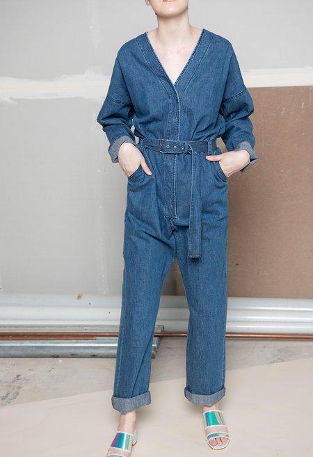 Rachel Comey Glitch Jumpsuit - INDIGO