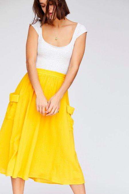 Callahan Bridgette Skirt - Canary Yellow