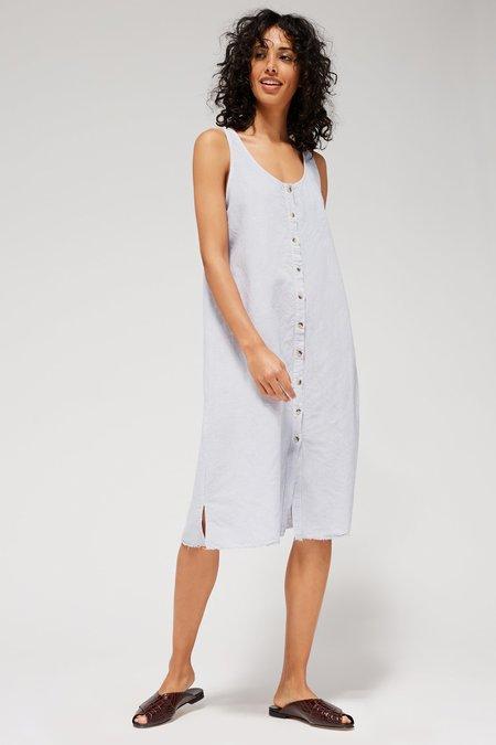 Lacausa Reversible Linen Dress - Baja
