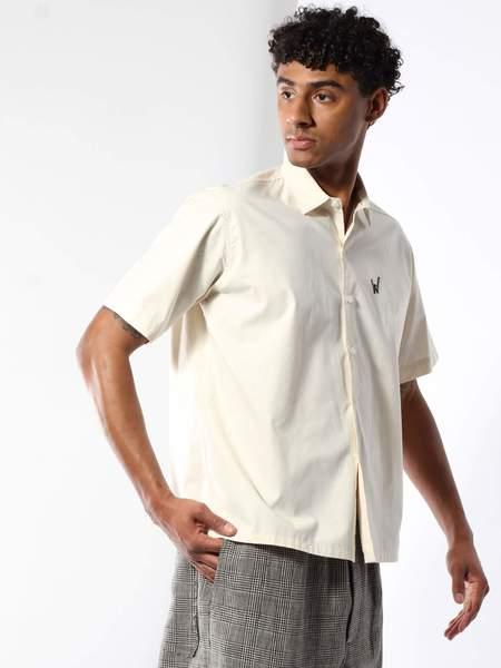 Dashiel Brahmann Wells Brown Chainstitch Shirt