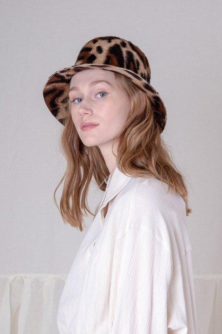 Brookes Boswell Bucket Hat - Cheetah Shag