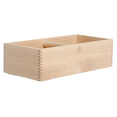Iris Hantverk Storage Box With Handle Birch