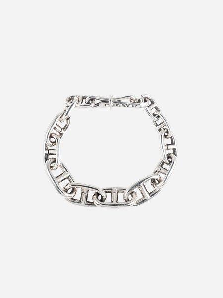 Jason Le Compte Docks Bracelet - Silver