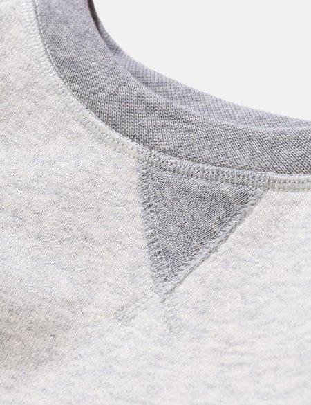 Norse Projects Ketel Contrast Sweatshirt - Light Grey Melange