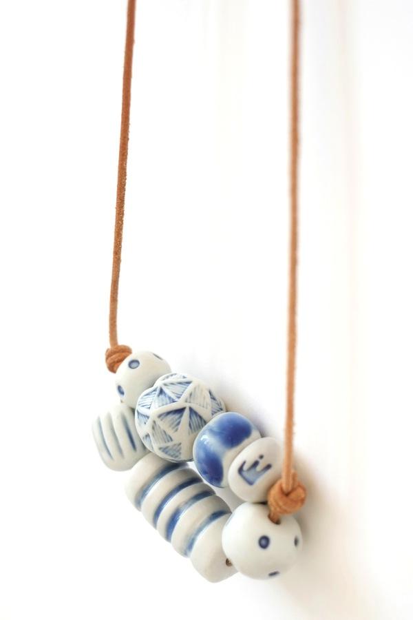 Jujumade honeycomb necklace