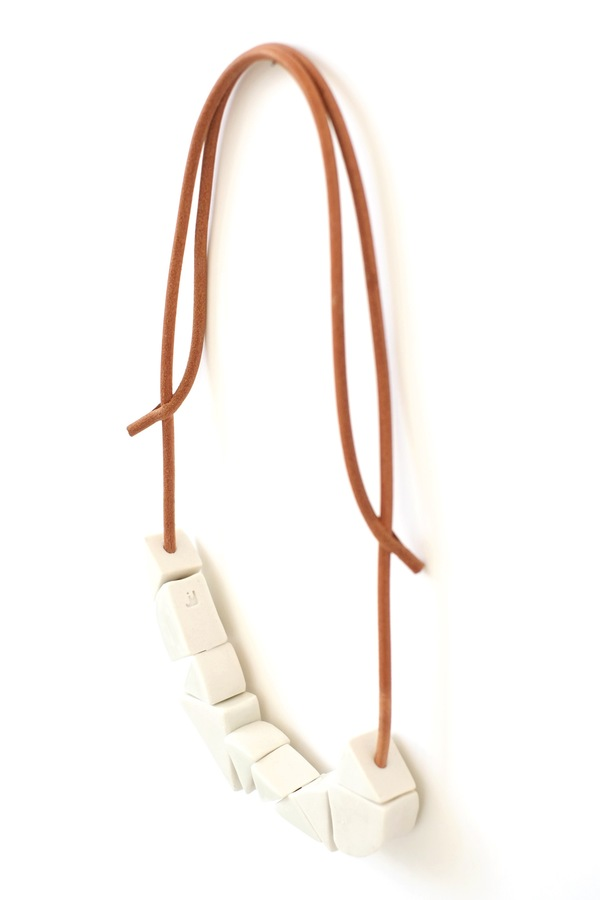 Jujumade wedge necklace