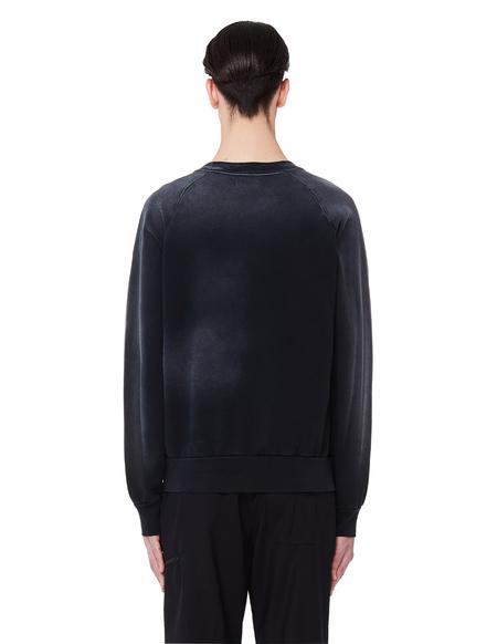 John Elliott Washed Cotton Sweatshirt - Black