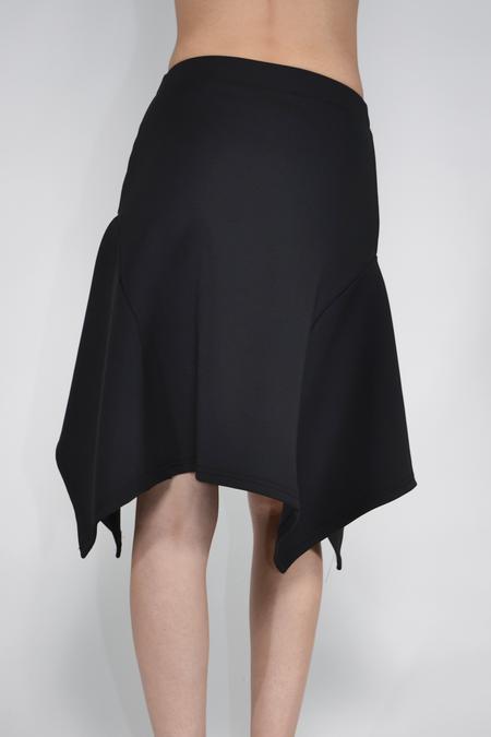 The Celect Poly Volume Skirt - black