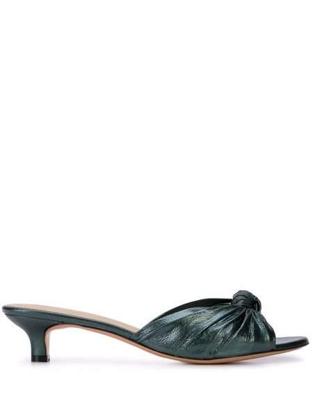 Mari Giudicelli Jeanne Open Back Sandal W/ Knot