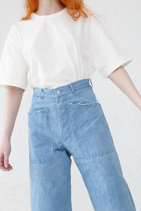 As Ever Brancusi Pant in 100% Cotton Japanese Twill Indigo Sky
