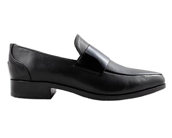 Cartel Footwear Loafer - Comala Black Leather