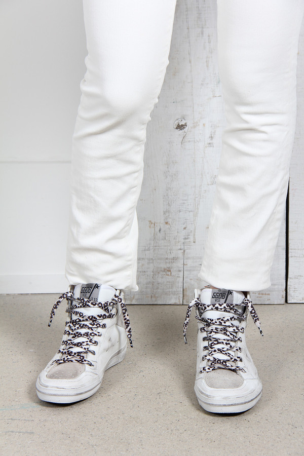 GOLDEN GOOSE 2.12 SNEAKERS IN LEATHER