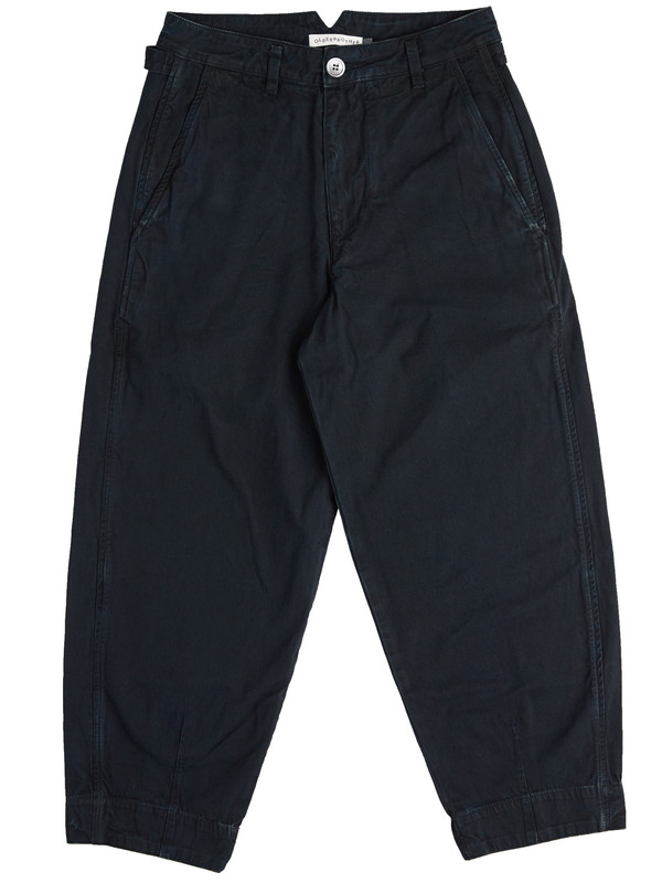 Olderbrother Forty-Five Trousers - Black Indigo