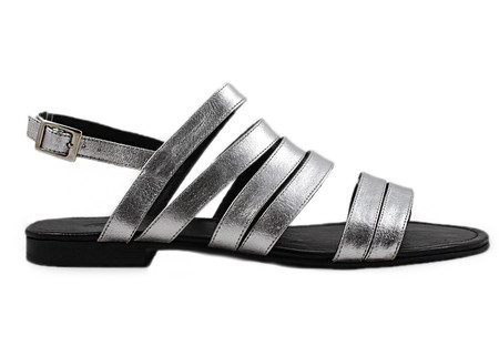 Cartel Footwear Sandal - Edzna Silver