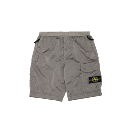 Stone Island Nylon Metal Cargo Badge Short - Olive
