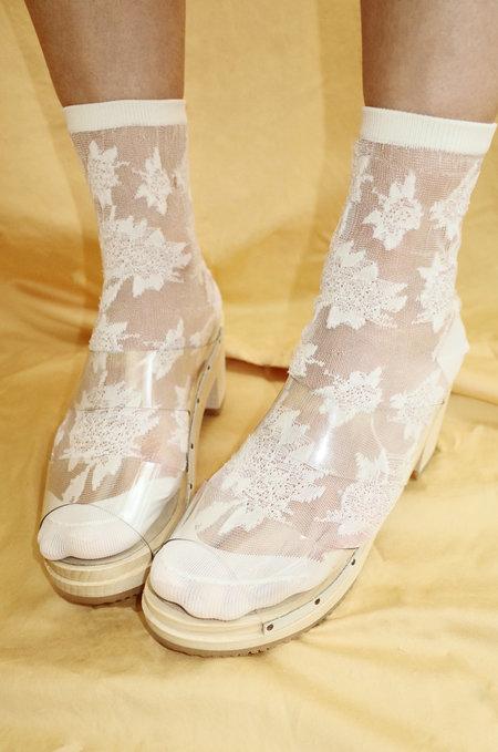 Santa Venetia Goods Clogs - Crystal