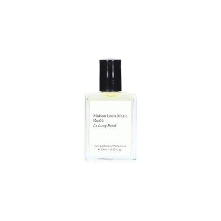 Unisex Maison Louis Marie No.02 Le Long Fond Perfume Oil