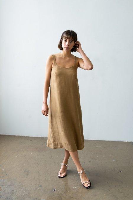 Waltz Wave Dress - Caramel