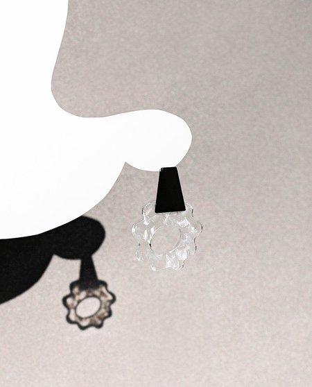 Après Ski Violeta Earrings - Transparent