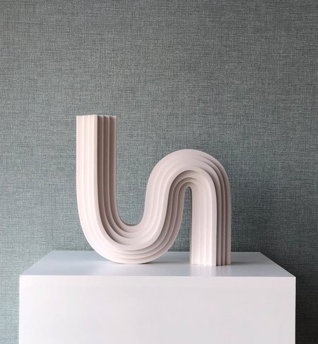 Curve BY CHARLOTTE TAYLOR X UNIQUE BOARD / LIMITED EDITION 3D PRINTED VASES