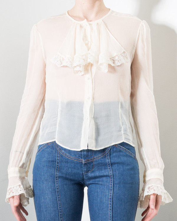 Stoned Immaculate Marianne Chiffon Blouse