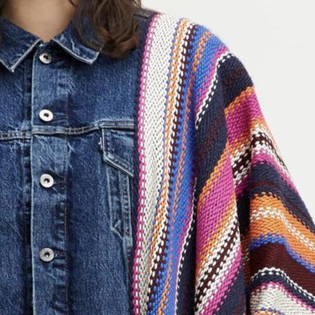 Levi's Made & Crafted Poncho Trucker Vest
