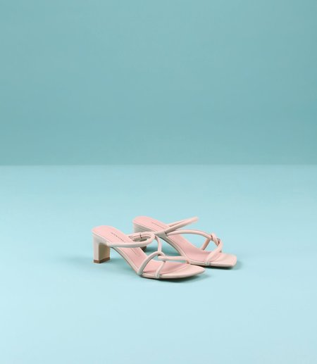 """INTENTIONALLY __________."" Willow Sandal - Bone"